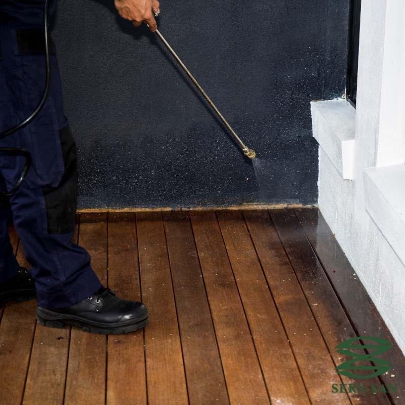 Controle de pragas em condomínios